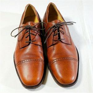 Bruno Magli Vibram Leather Made In Italy Si